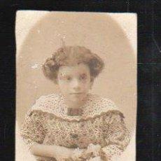 Fotografía antigua: FOTOGRAFIA DE ESTUDIO INFANTIL. HECHA POR DEL PINO, HABANA.. Lote 36083899
