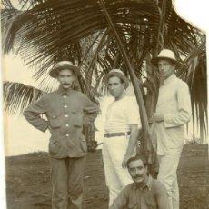 Fotografía antigua - GUINEA ESPAÑOLA. HACIA 1920. JULIO BLASCO Y FAMILIA. LOTE DE TRES FOTOS. - 36339040