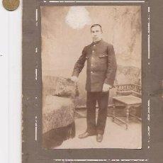 Fotografía antigua: CABALLERO. FOTO EN SOPORTE DE CARTÓN SIN IDENTIFICAR. Lote 36463827