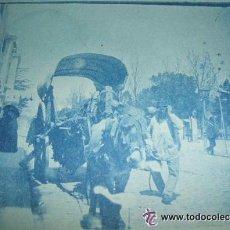 Fotografía antigua: MADRID FINALES SIGLO XIX CIANOTIPO ESCENA URBANA. Lote 36637205