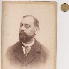 Fotografia antica: ANTONIO GARCÍA FOTÓGRAFO (VALENCIA). DON MANUEL CORT. PRESIDENTE SOCIEDAD VALENCIANA AGRICULTURA. Lote 36734419