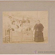 Fotografía antigua: JOSÉ ACEBEDO FOTÓGRAFO. MADRID. COMPOSICIÓN FOTOGRÁFICA. HUMOR. Lote 36747520