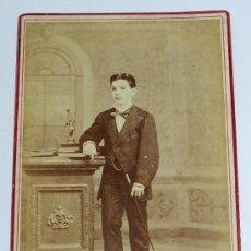 Fotografía antigua - ANTIGUA FOTOGRAFIA ALBUMINA POR C. D. FREDRICKS Y DARIES, HABANA, MIDE 16,5 X 10,8 CMS. - 36762148
