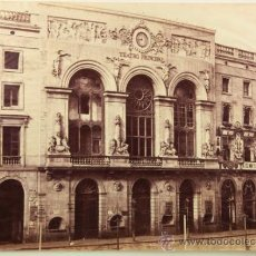 Fotografía antigua: BARCELONA, TEATRO PRINCIPAL, 1860. CHARLES CLIFFORD. ALBÚMINA EXPERIMENTAL SIN MONTAR 27,5X38 CM.. Lote 36900242