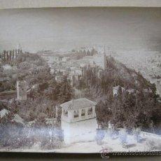 Fotografía antigua: GRANADA - VISTA GENERAL - AÑOS 1900-10. Lote 37125054