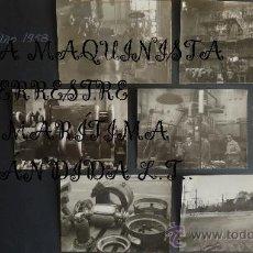 Fotografía antigua: FOTOS LA MAQUINISTA TERRESTRE Y MARÍTIMA AÑO 1958. Lote 37152939