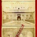 Fotografía antigua: 11 FOTOGRAFIAS ALBUMINA, ALHAMBRA GRANADA , EN ACORDEON , VER FOTOS , ORIGINAL. Lote 37319698
