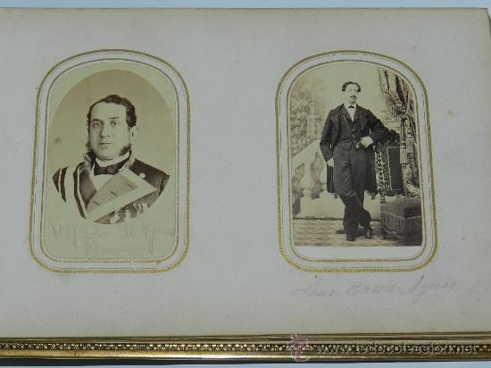 ANTIGUO Y EXCEPCIONAL ALBUM DE FOTOGRAFIAS ALBUMINAS DE SORIA, CORRESPONDIENTES AL PERIODO 1862 A 19 (Fotografía Antigua - Albúmina)