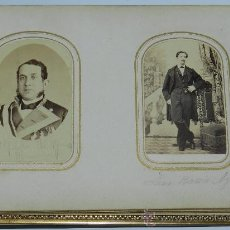 Fotografía antigua: ANTIGUO Y EXCEPCIONAL ALBUM DE FOTOGRAFIAS ALBUMINAS DE SORIA, CORRESPONDIENTES AL PERIODO 1862 A 19. Lote 37566451