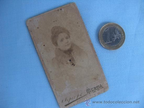 ANTIGUA FOTOGRAFÍA. VILLAR , MURCIA (Fotografía Antigua - Albúmina)