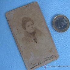 Fotografía antigua: ANTIGUA FOTOGRAFÍA. VILLAR , MURCIA. Lote 37731164