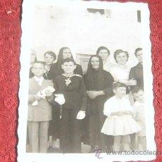 Alte Fotografie - FOTO NUM.62: MARAVILLOSA FOTOGRAFÍA TROQUELADA DE LA PRIMERA COMUNIÓN.AÑOS 50. - 37910885