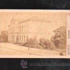 Fotografía antigua: FOTOGRAFIA DE BREMEN. KUNTHALLE. L.HERZOG. Nº 47. 10 X 7CM.. Lote 38104066