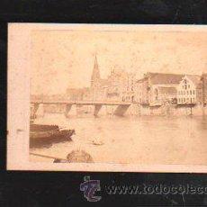 Fotografía antigua: FOTOGRAFIA DE BREMEN. WEFERBRUCKE. L.HERZOG. Nº 17. 10 X 7CM.. Lote 38116599
