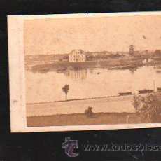 Fotografía antigua: FOTOGRAFIA DE BREMEN. WERDER. L.HERZOG. Nº 22. 10 X 7CM.. Lote 38116643