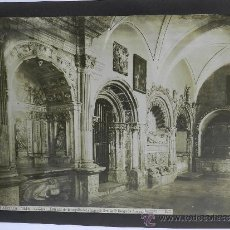 Fotografía antigua: Nº 1848, SALAMANCA, CATEDRAL, ENTRADA DE LA CAPILLA DEL OBISPO DE SEVILLA D. DIEGO DE ANAYA, J. LAUR. Lote 38117596
