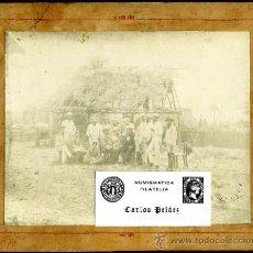 Fotografía antigua: PACTO DEL ZANJON - CUBA - 1878 - JEFES ESPAÑOLES E INSURRECTOS EN CONVERSACIONES PREVIAS. Lote 38382159