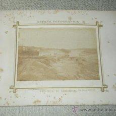 Fotografía antigua: VISTA GENERAL DEL SARDINERO, SANTANDER. FOT. PICA-GROOM. CIRCA 1870. Lote 38633471