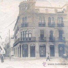 Fotografía antigua: SEVILLA, CIRCA 1900, PLAZA DE VILLASIS VISTA DESDE CALLE ORFILA,IMPRESIONANTE,195X142MM. Lote 38669741