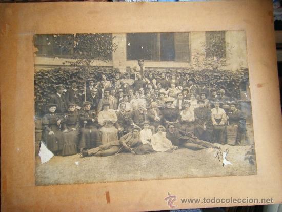 VALENCIA TEATRO CIRCO APOLO 1905 - 1906 FOTOGRAFIA GRANDE 42 X 61 (Fotografía Antigua - Albúmina)