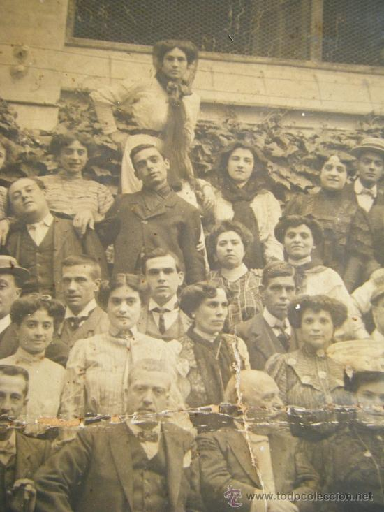Fotografía antigua: VALENCIA TEATRO CIRCO APOLO 1905 - 1906 FOTOGRAFIA GRANDE 42 X 61 - Foto 6 - 38804530