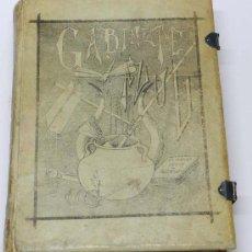 Fotografía antigua: RARISIMA PUBLICACIÓN GABINETE AZUL, AÑO 1885, VALENCIA, ES UNA COMPILACIÓN DE FOTOGRAFIAS ALBUMINAS . Lote 38883507