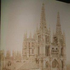 Fotografía antigua: BURGOS CATEDRAL ALBUMINA SIGLO XIX. Lote 39161232