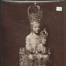 Fotografía antigua: ALBUMINA LAURENT- SALAMANCA- 828-STATUE DE LA VIERGE DE LA VEGA - 25 X 33 MED- (F-462). Lote 39174334