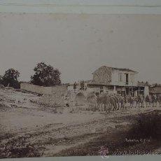 Fotografía antigua: DOS FOTOGRAFIAS ALBUMINAS DE SMYRNA, IZMIR (TURQUIA), AÑO 1880 APROX. FOTOGRAFIAS DE RUBELLIN ET FIL. Lote 39183728