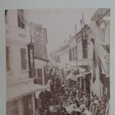 Fotografía antigua: DOS FOTOGRAFIAS ALBUMINAS DE SMYRNA IZMIR (TURKEY), AÑO 1880 APROX. FOTOGRAFIAS DE RUBELLIN ET FILS,. Lote 39185702