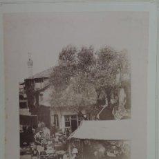 Fotografía antigua: DOS FOTOGRAFIAS ALBUMINAS DE SMYRNA IZMIR (TURKEY), AÑO 1880 APROX. FOTOGRAFIAS DE RUBELLIN ET FILS,. Lote 39186189