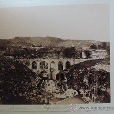 Fotografía antigua: DOS FOTOGRAFIAS ALBUMINAS DE SMYRNA IZMIR (TURKEY), AÑO 1880 APROX. FOTOGRAFIAS DE RUBELLIN ET FILS,. Lote 39186289