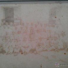 Fotografía antigua: CA. 1880. SANTIAGO DE CUBA. FOTOGRAFIA COLECTIVA DE CONDUCTORES DE TRANVÍAS. FRANCISCO GUERRA. Lote 39322629