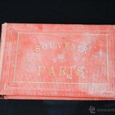 Fotografía antigua: ALBUM DE 25 ALBÚMINAS DE LA CIUDAD DE PARÍS. FINALES S. XIX. . Lote 39644850
