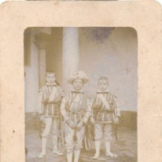 Fotografía antigua: SEVILLA,SIGLO XIX, ALBUMINA DE LOS SEISES, PRECIOSA,76X112MM. Lote 39940998