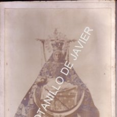 Fotografía antigua: ANTIGUA FOTOGRAFIA DE LA VIRGEN DE LAS ANGUSTIAS DE GRANADA - 18X24 CM - FOTO GARZON - VER ADICIONAL. Lote 39975335