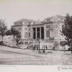 Fotografía antigua: ANTIGUA FOTOTIPIA 1896 -MADRID, MUSEO DE PINTURAS - MUSEO DEL PRADO - HAUSER Y MENET - MIDE 22,5 X. Lote 38242862