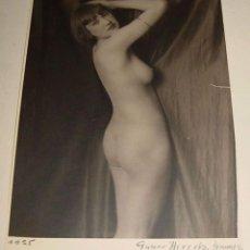 Fotografía antigua: ANTIGUA FOTOGRAFIA DE DESNUDO DE MUJER - FOTO EROTICA - NUDE PHOTO - FOTO GABOR HIRSCH - AÑO 1925 AP. Lote 38260299