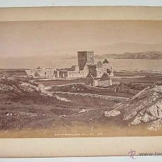 Fotografía antigua: G.W.W. A LA VUELTA FINGAL,S CAVE, STAFFA, LOOKING TO IONA 10268 G.W.W. - MIDE 23,5 X 17,5 CMS-------. Lote 38262451