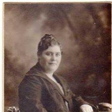 Fotografía antigua: 1 FOTOGRAFÍA ANTIGUA. 14 X 8 CTMS. AL REVERSO SELLO FOTÓGRAFO. F. AMER. BARCELONA. AÑOS 1910S. Lote 40258691