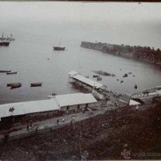 Fotografía antigua: ANTIGUA FOTOGRAFIA ALBUMINA DE GUINEA ECUATORIAL, FINALES DEL SIGLO XIX, BAHHIA DE SANTA ISABEL, LA . Lote 38282569