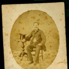 Fotografía antigua: RETRATO - CASANOVAS - 1880-1890 . Lote 40378807