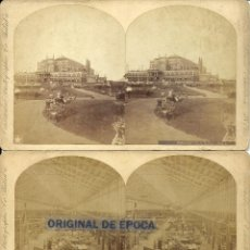Fotografía antigua - (FOT-930)LOTE DE 10 FOTOGRAFIAS ALBUMINAS ESTEREOSCOPICAS EXPOSICION INTERNACIONAL 1876 PHILADELPHIA - 40695542