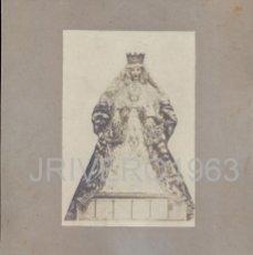 Fotografía antigua: SEVILLA, SIGLO XIX, MAGNIFICA ALBUMINA DE LA VIRGEN DE LOS REYES,218X250MM. Lote 40719210