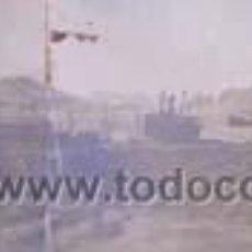 Fotografía antigua: ANTIGUA FOTOGRAFIA PANORAMICA DEL PUERTO DE AGUILAS Y EMBARCADERO DE MINERAL MURCIA. Lote 40839898