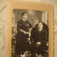 Fotografía antigua: ANTIGUA FOTOGRAFIA EN CARTON, P.P.S.XX. O F.F S.XIX, IGUALADA ALE.15. Lote 40846992