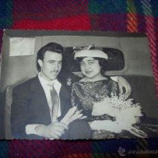 Alte Fotografie - FOTO NUM. 78 : MARAVILLOSA FOTOGRAFÍA TROQUELADA DE UNA PAREJA .AÑOS 50-60.FOTOS DESEURAS.VER FOTO. - 40959411