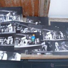 Fotografía antigua: FOTOS COMPAÑIA TEATRO QUART 23 JOSÉ MARTÍN RECUERDA. LAS SALVAJES EN PUENTE SAN GIL PACO CANO? . Lote 41159565