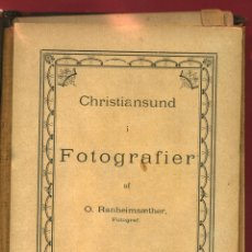 Fotografía antigua: ALBUM 47 FOTOS ALBUMINA , FOTOGRAFIAS KRISTIANSUND ,1886, NORRUEGA NORWAY, RANHEIM SAETHER. Lote 41242558