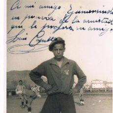 Fotografía antigua - foto dedicada de futbolista - 41311479